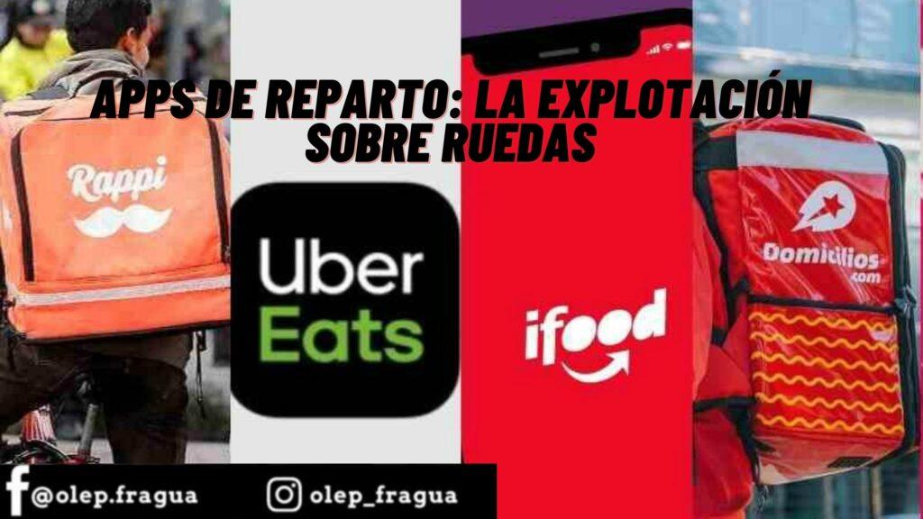Apps de reparto_ la explotación sobre ruedas
